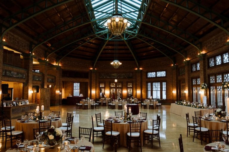 Café Brauer Chicago Weddings